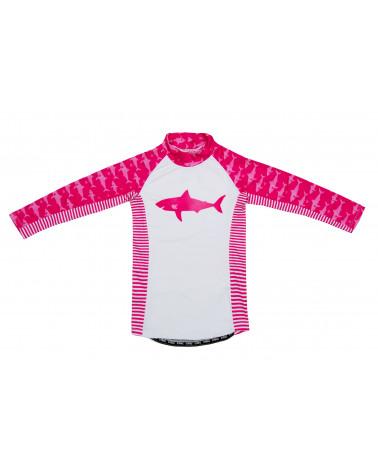 Kindertop UPF 50 - Fuchsie/Hai T-Shirts & Langsarmshirts Stonz®