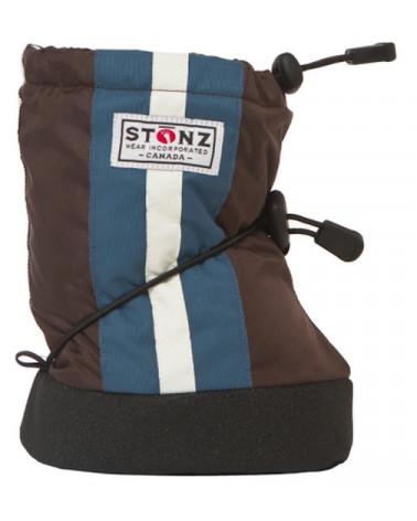BABY BOOTIES - STRIPE BROWN Baby Booties Stonz®