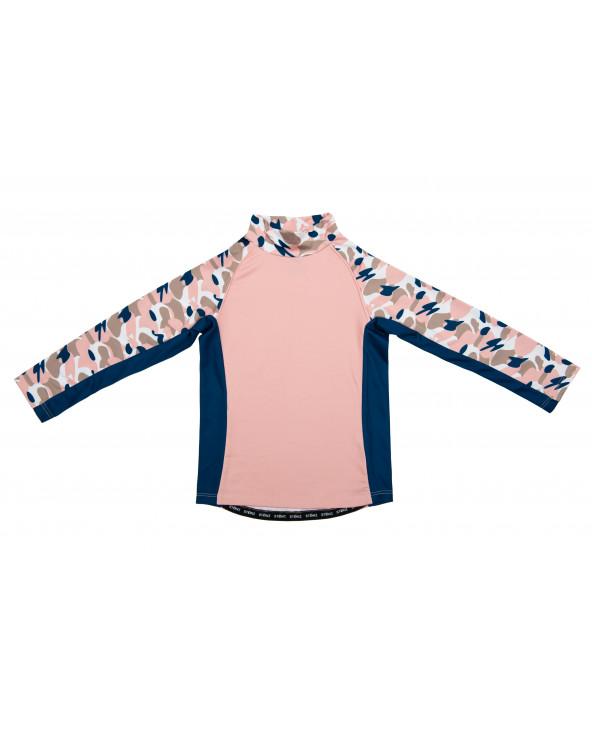 KINDER SONNENSCHUTZ T-SHIRT UPF 50 - Camo Pink T-Shirts & Langsarmshirts Stonz®