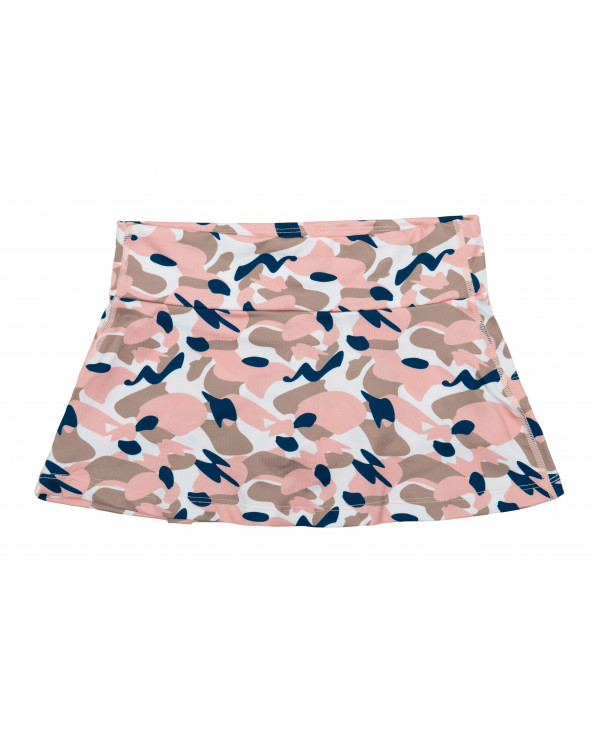 KINDER UV-ROCK MIT SHORTS 2in1 UPF 50 - Camo Pink Röcke Stonz®