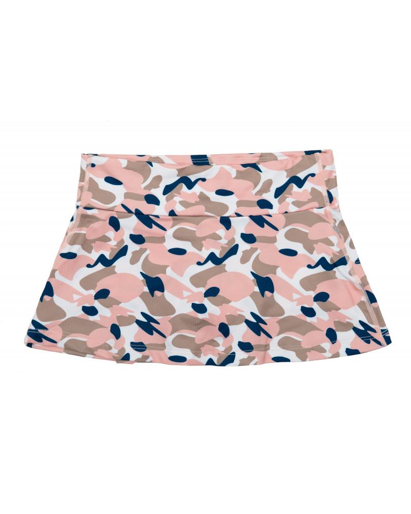 KINDER UV-ROCK MIT SHORTS 2in1 UPF 50 - Camo Pink Röcke Stonz®