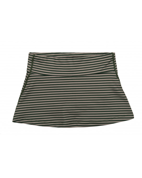 KINDER ROCK MIT SHORTS 2in1 UPF 50 - Forest Trail Stripes Röcke Stonz®