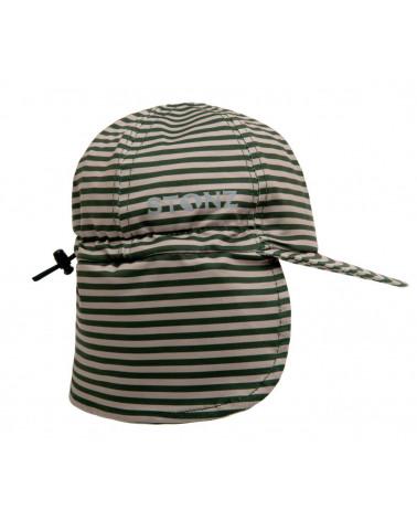 KINDER SONNENHUT UPF 50 - Forest Trail Stripes Mützen & Hüte Stonz®