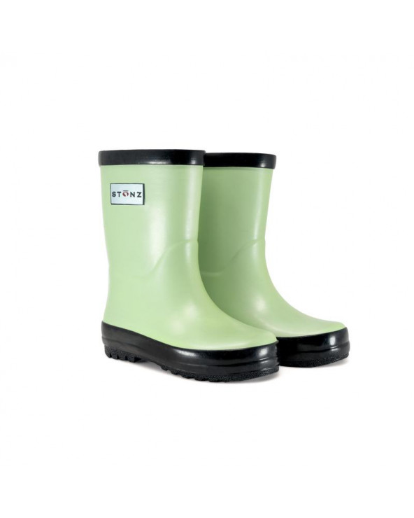 Sold Out          KINDER GUMMISTIEFEL - METALLIC MINT Gummistiefel Stonz®