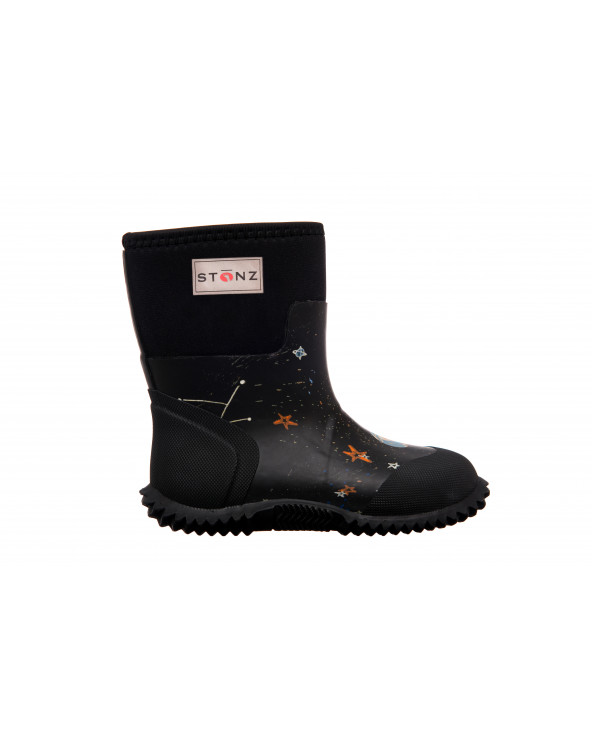 Sold Out          KINDER NEOPRENSTIEFEL WEST - GALAXY GLOW Multi-Saison Stiefel West Stonz®