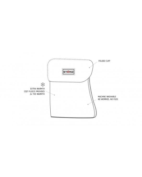 BOOTIE LINERS-EINLAGEN - BLACK Liners-Einlagen Stonz®