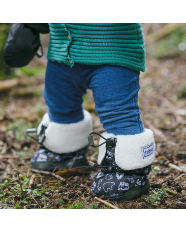 TODDLER BOOTIES - STONZ PRINT Toddler Booties Stonz®