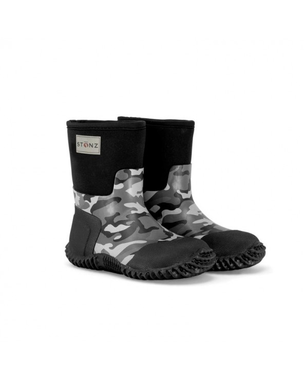 Sold Out          KINDER NEOPRENSTIEFEL WEST - CAMO PRINT Multi-Saison Stiefel West Stonz®