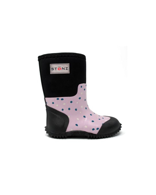 KINDER NEOPRENSTIEFEL WEST – PINK SNOW Multi-Saison Stiefel West Stonz®
