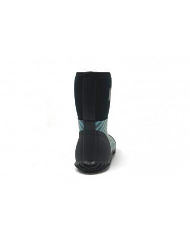 Sold Out          KINDER NEOPRENSTIEFEL WEST - STRIPES BLUE Multi-Saison Stiefel West Stonz®