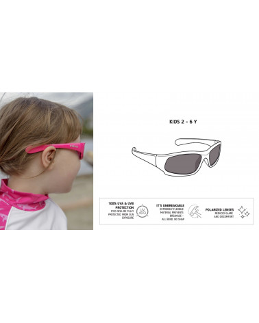 KINDER SONNENBRILLE UV400 - Black Sonnenbrillen Stonz®
