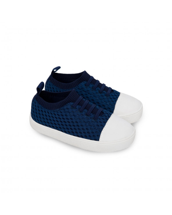 "KINDER SNEAKER ""SHORELINE"" - Navy Sneakers Shoreline Stonz®"