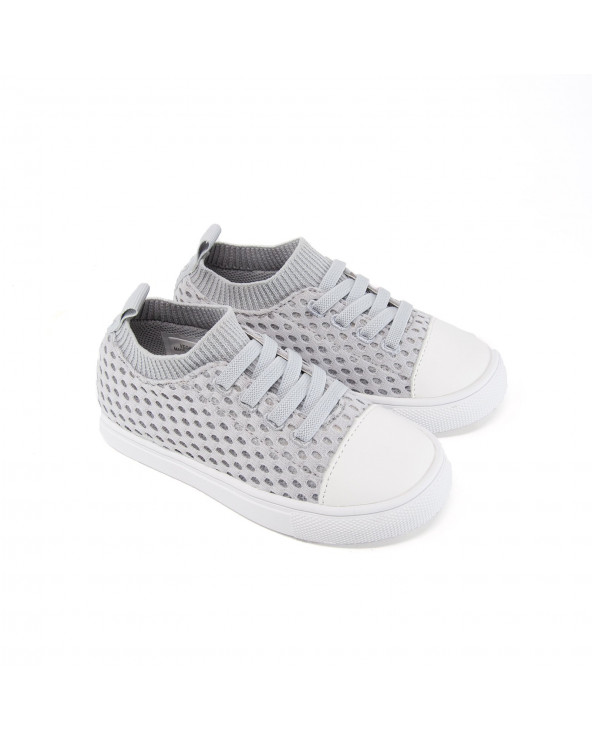 "KINDER SNEAKER ""SHORELINE"" - Haze Grey Sneakers Shoreline Stonz®"