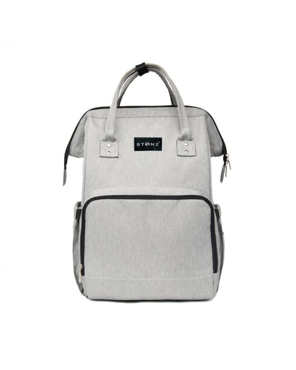 MOMMY URBAN BACKPACK WICKELRUCKSACK - classic grey Wickelrucksack Urban Backpack WICKELRUCKSACK Stonz®