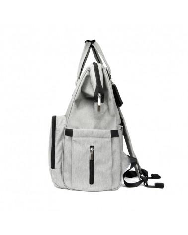 MOMMY URBAN BACKPACK WICKELRUCKSACK - classic grey Wickelrucksack Urban Backpack WICKELRUCKSACK Stonz®