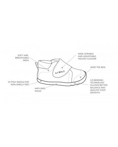 KINDER SNEAKER CRUISER - Haze Pink Kinder Sneaker Cruiser Stonz®