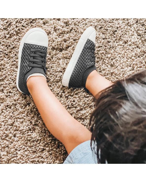 "KINDER SNEAKER ""SHORELINE"" - Black Sneakers Shoreline Stonz®"