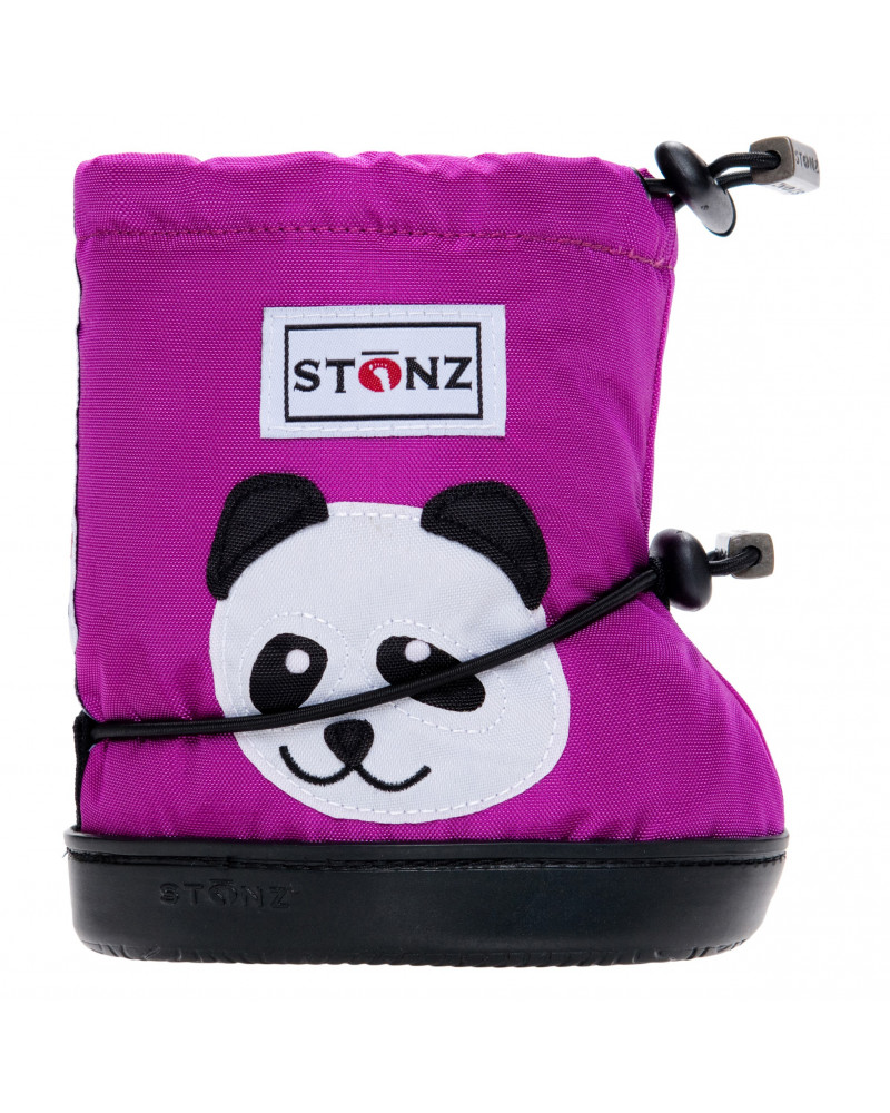 TODDLER BOOTIES - PANDA MAGENTA Toddler Booties Stonz®
