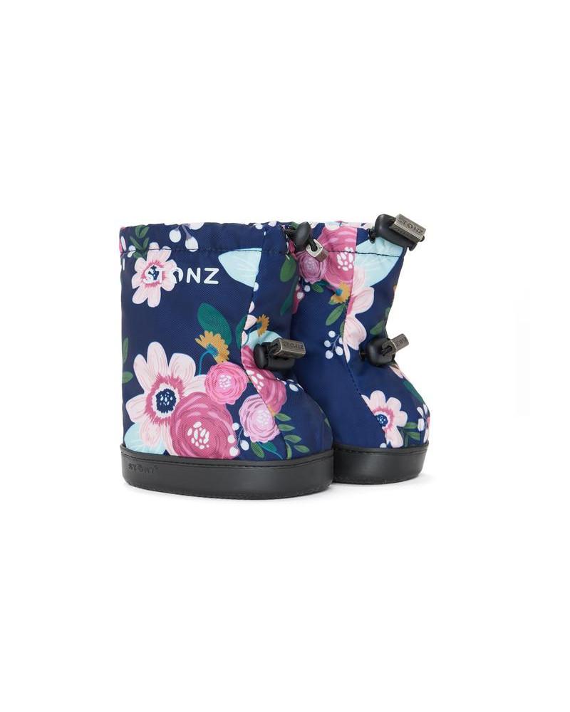TODDLER BOOTIES - WILDFLOWER NAVY Toddler Booties Stonz®