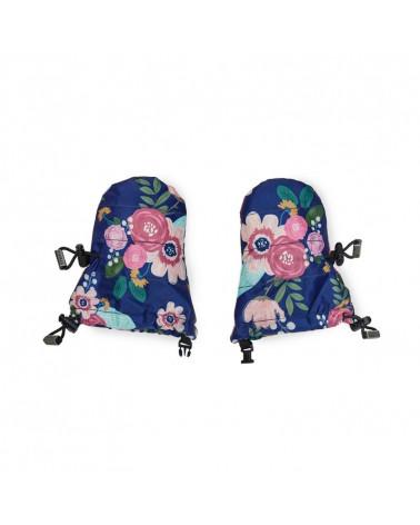 BABY&KLEINKINDER WINTERHANDSCHUHE - Wildflower Navy Baby Handschuhe Stonz®