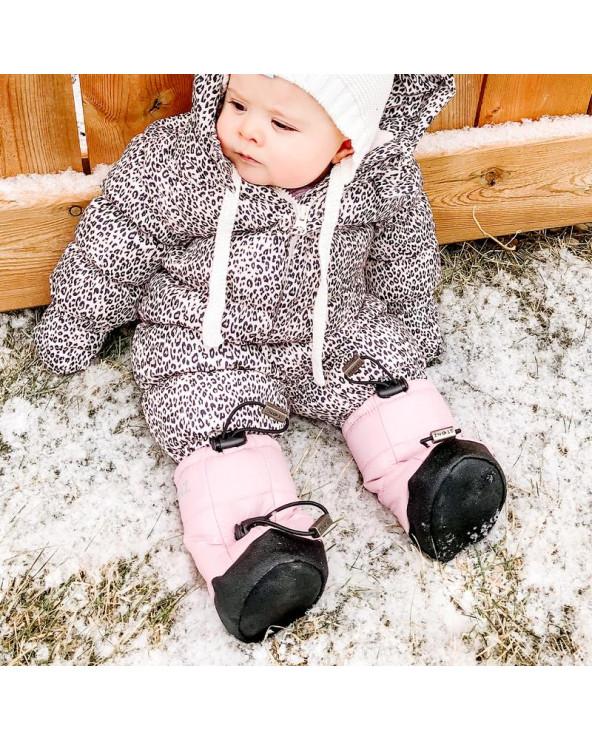 BABY PUFER BOOTIES - HAZE PINK Baby Booties Stonz®