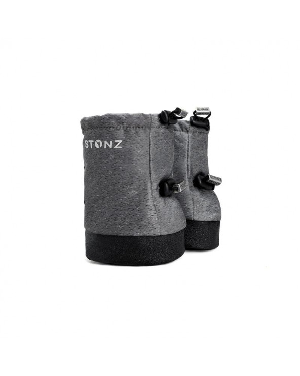 Sold Out    BABY BOOTIES - HEATHER GREY Baby Booties Stonz®
