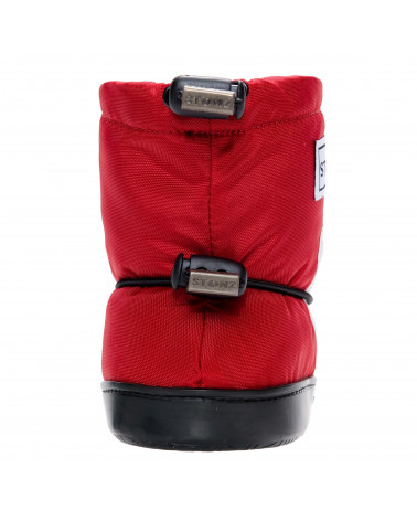 TODDLER BOOTIES - DALMATIN RED Toddler Booties Stonz®