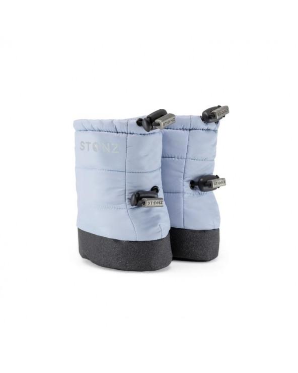 BABY PUFER BOOTIES - HAZE BLUE Baby Booties Stonz®