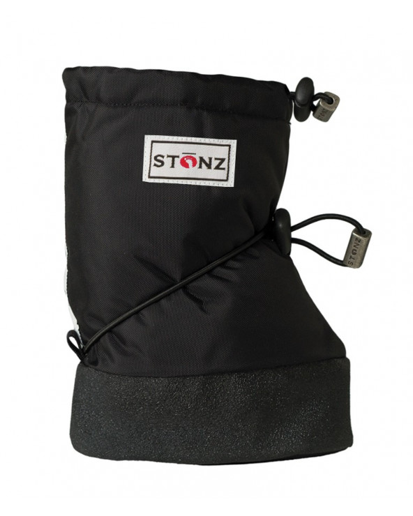 Sold Out          BABY BOOTIES - BLACK Baby Booties Stonz®