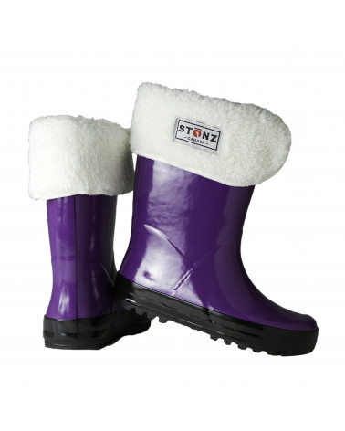 Rain Boots - Violet Rainboots