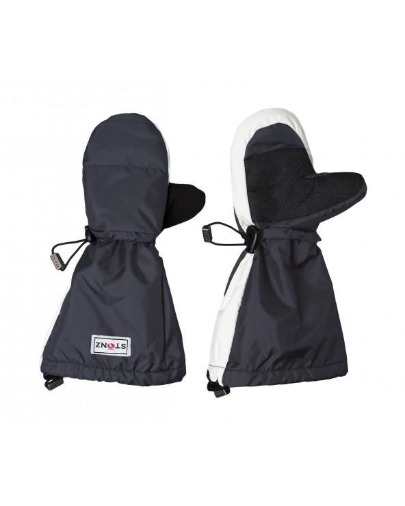 Sold Out          KINDER WINTERHANDSCHUHE FÄUSTLINGE - Grau Jugend Handschuhe Stonz®