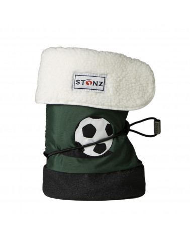 BABY BOOTIES - SOCCER BALL Baby Booties Stonz®