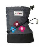 STONZ booties - Skull&Crossbones Grey