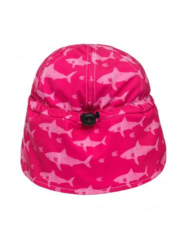 Mütze UPF 50 - Fuchsie/Hai Mützen & Hüte Stonz®